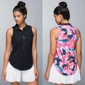 "Lululemon ""Hot hotter"" sleeveless tank"